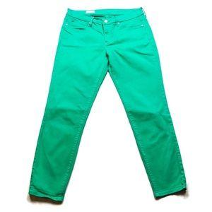 Gap Green Ankle Legging Skinny Jeans Sz 10/30